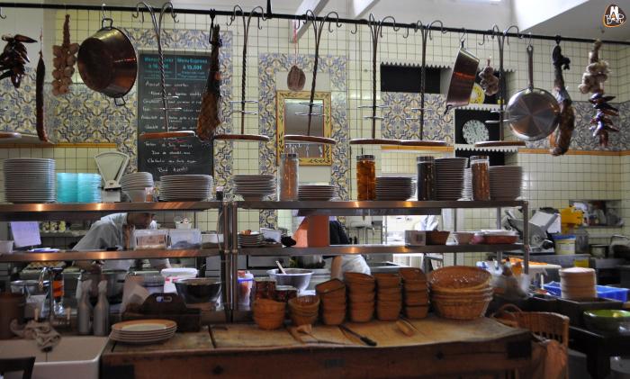 C t cuisine restaurant bonne adresse r moise for Cuisine ouverte restaurant norme
