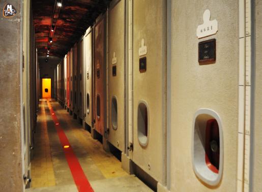 Couloir de cuves