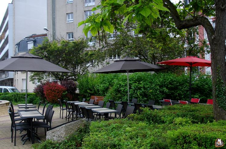 Terrasse du Central Park Café