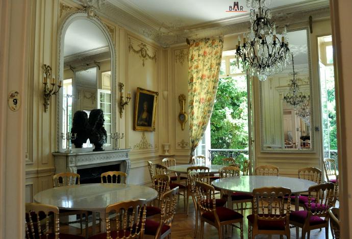 Salle de réception du Château de Pierry