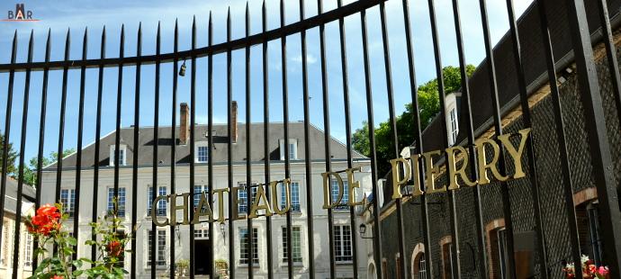 Extérieur du chateau de Pierry