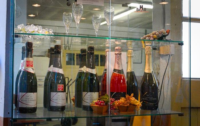 bouteilles champagne michel lenique