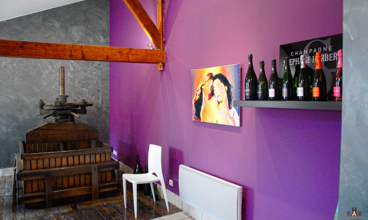 salle degustation champagne stephane herbert