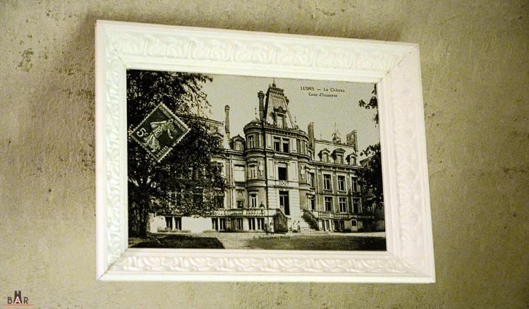 Le château de Ludes, avant sa démolition en 1955