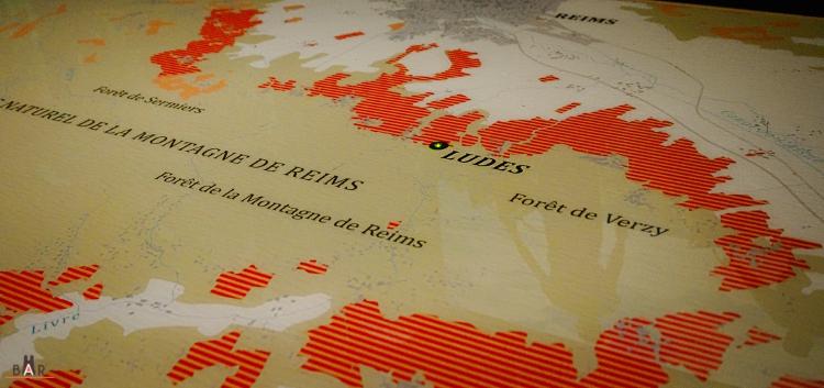Carte des vignobles - Ludes