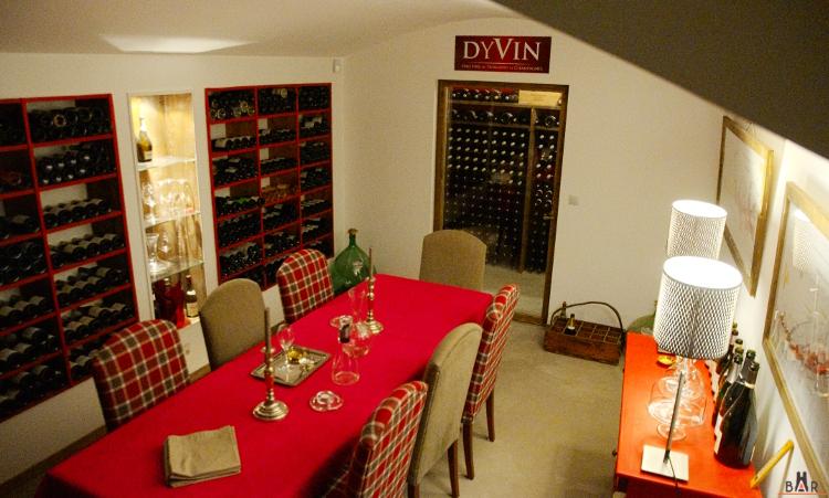 Caveau de réception chez Dyvin