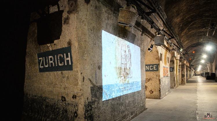 Zurich - Galerie des Caves Pommery