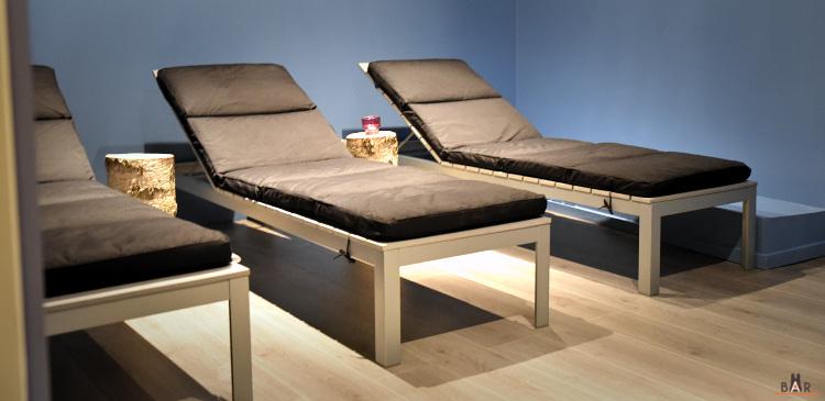 La salle de relaxation et détente de Kinéôspa