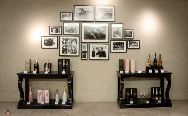 Réception à la maison de champagne Lanson