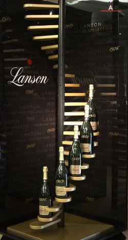 Présentoir Lanson