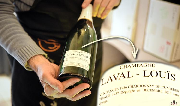 Champagne d'exception à la Cave du Bois Joli