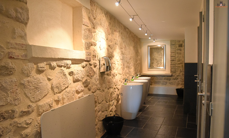Toilettes du Grand Cellier Vilmart