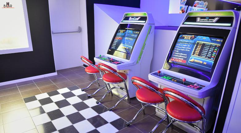 Bornes de jeux Astro City - Reims