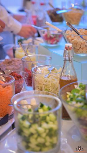 Salad Bar des Réceptions Bertacchi