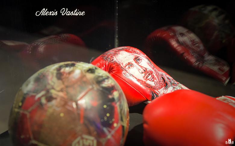 C215 - Alexis Vastine - gant de boxe