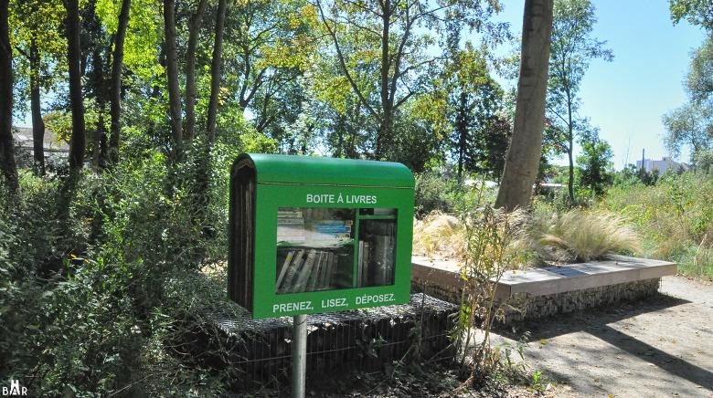Boîte à livre du Parc des Grenouilles