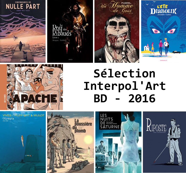Sélection Interpol'Art BD 2016