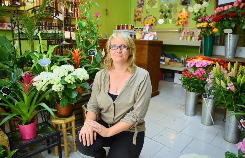 Cindy, gérante du Jardin de Stelly