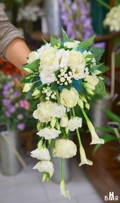 Bouquet de mariée - Jardin de Stelly