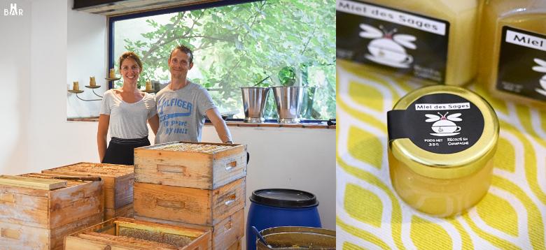 Marc-Antoine et Marie-Cécile Janody - apiculteurs du Miel des Sages
