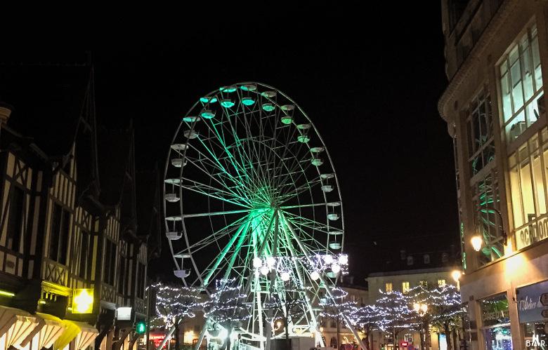 Grande Roue Place du Forum - Marché de Noël 2016 à Reims