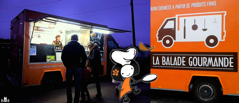 La Balade Gourmande - Food-truck