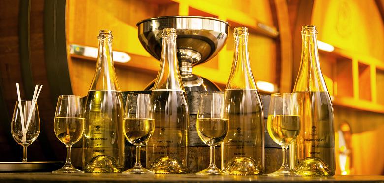 Dégustation de vins clairs chez J. De Telmont