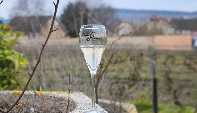 Flûte de champagne Trail Aventures