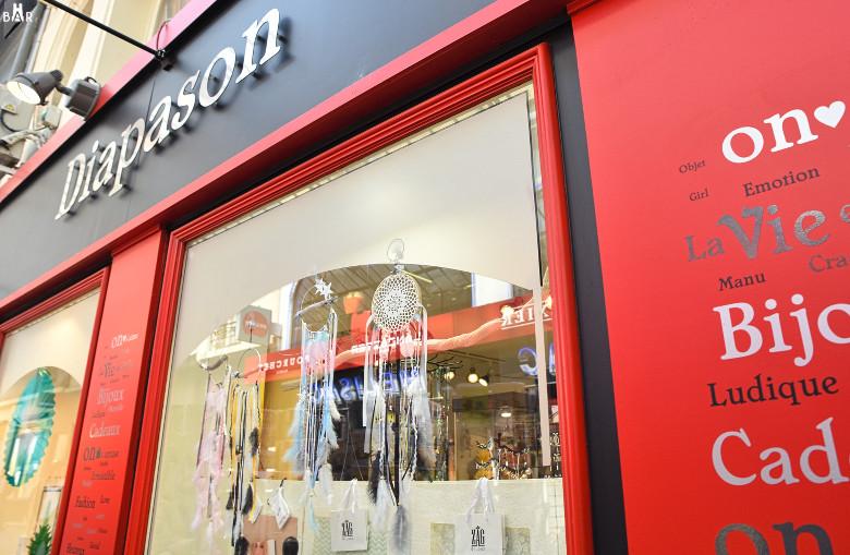 Diapason - boutique rémoise dans les galeries de la Place d'Erlon