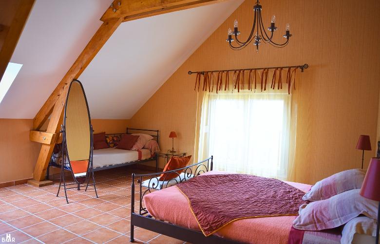 """Chambres d'hôtes """"Les Montants"""" de la maison de Champagne Pierre Trichet"""