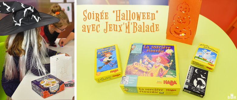 Soirée Halloween avec Jeux M'balade